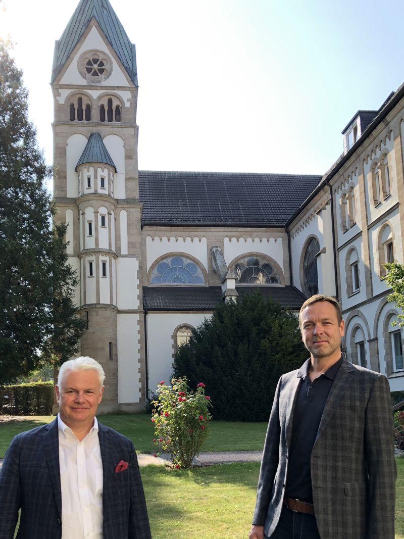 Dr. Sven U. Langner und Olaf Klok, EVV-Verbundgeschäftsführer