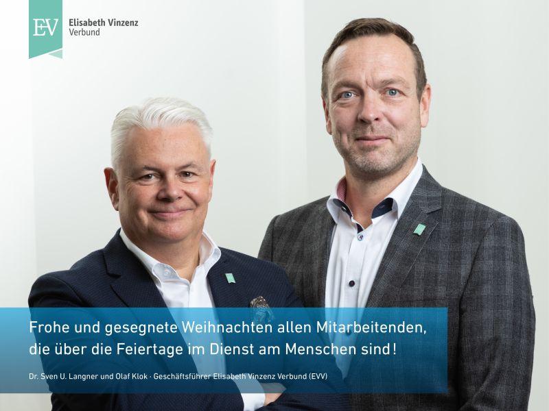 Dr. Sven U. Langner und Olaf Klok